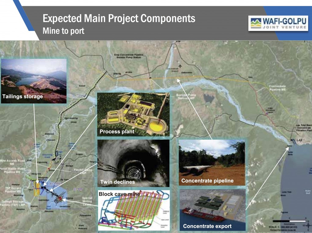 Wafi-Golpu infrastructure